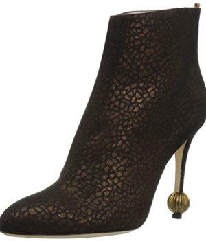 TOP Stiefeletten Damenschuhe Used Optik Echtleder Boots 0554 Camel 39